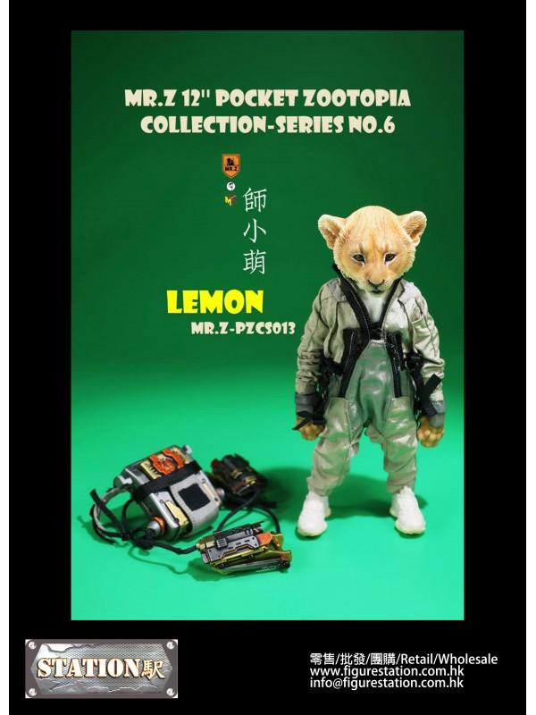 "Mr.Z PZCS013 7"" Pocket Zootopia Collection-Se..."