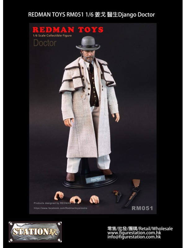 REDMAN TOYS RM051 1/6 Django Doctor
