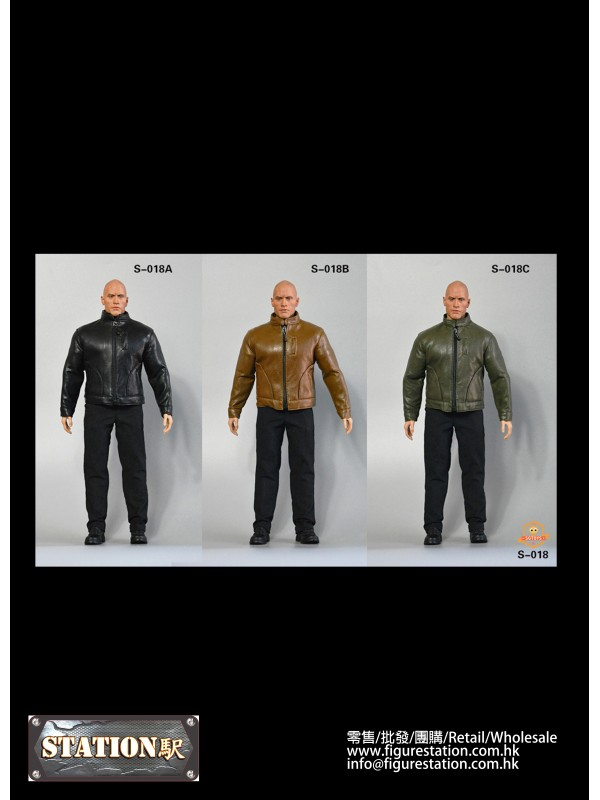 SGTOYS SG-S-018 1/6 Men's Leather Suit