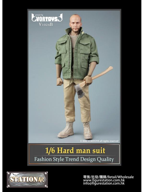 VORTOYS V1024B 1/6 Male Tough Guy Tooling Suit