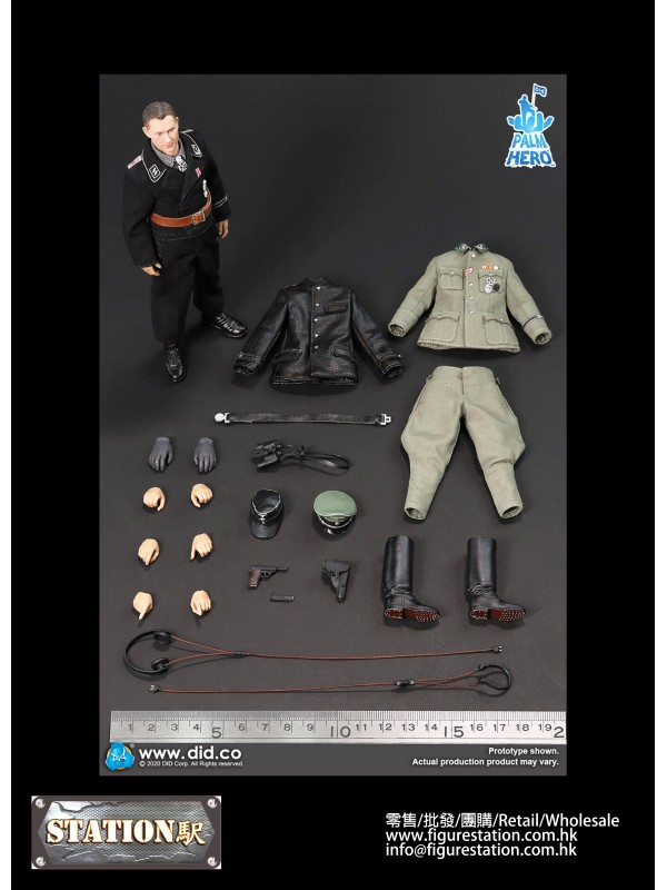 DID XD80004 PALM HERO 1/12 WWII German SS Hauptsturmführer -Michael Wittmann