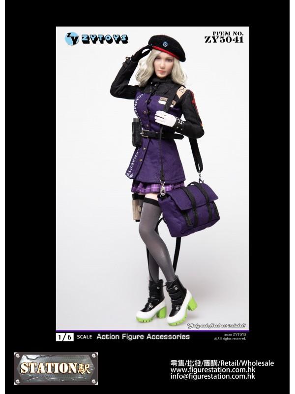 ZYTOYS ZY5041 1/6 Female Military Uniform