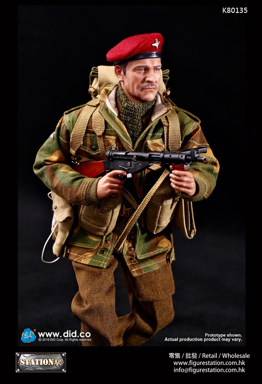 """DID K80135 1/6 WWII戰英軍第一空降師""""紅魔"""" 指揮官"""