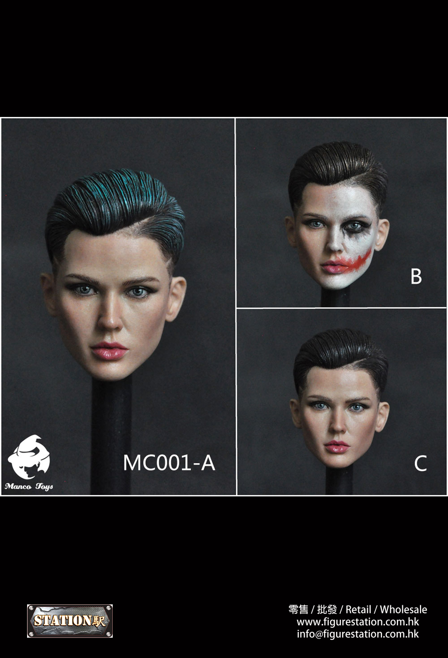 Manco Toys MC001 1/6 女頭雕