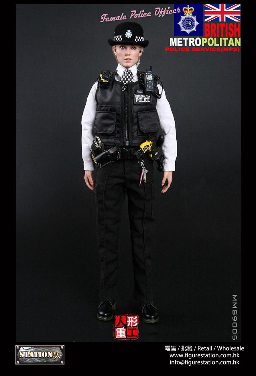 MODELING TOYS 人形重工 MMS9005 1/6蘇格蘭場倫敦警察廳女警