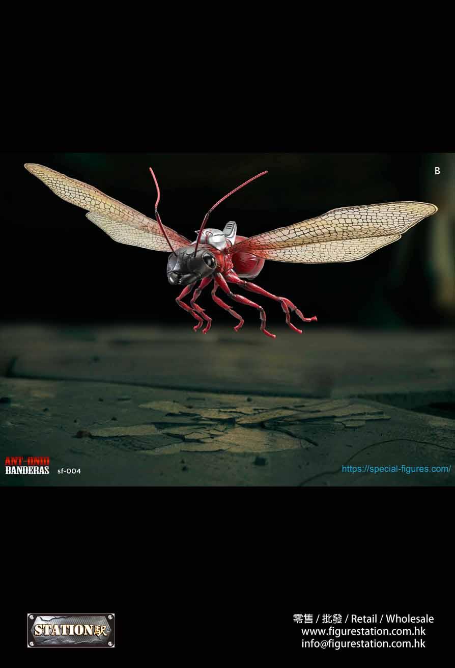 Special Figures 1/6 SF-004R 蟻人坐騎 飛蟻 螞蟻 可動模型 紅色